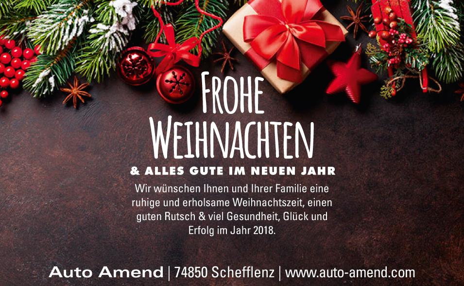 Wir Wünschen Euch Frohe Weihnachten Und Einen Guten Rutsch.Auto Amend Frohe Weihnachten